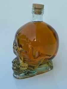 Skull Head Glass Decanter 850ml Whiskey Bottles
