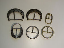 Vintage style bronze gold or silver women belt buckle accessory made by alloy