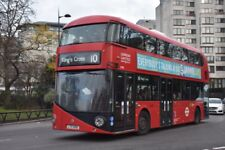LT90 LTZ 1090 LONDON UNITED NEW ROUTEMASTER 30TH DEC 2017 6x4 London Bus Photo B