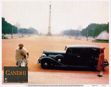 BEN KINGSLEY ORIGINAL 11X14 LOBBY CARD GANDI BY BLACK CAR