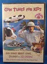 BRENT HOLMES Fun Tunes for Kids COW TUNES FOR KIDS DVD Cows & Ice Cream!