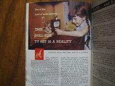 June 21, 1958 TV Guide(PATTY DUKE/CASEY JONES/ALAN HALE/ROD CAMERON/GAIL PATRICK