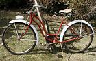 """Vintage 1952 SCHWINN PANTHER 26"""" Cruiser Bike. AS Springer, Rocket Ray. Nice!"""