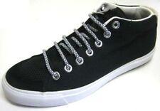 Unisex Pony Con Cordones De Lona Plana Casual Negro Zapatillas / Zapatos 121t66