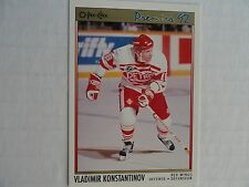 Vladimir Konstantinov 1991/92 OPC Premier RC Red Wings BUY ONE, GET ONE FREE !!!