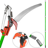 Detachable Pole Pruning Saw 8m Tree Trimmer Saw Epoxy Resin Sawing Portable