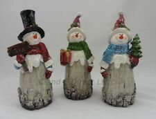 Christmas Decoration Christmas Snowman Ornament Frosty Figurine 22cm Height
