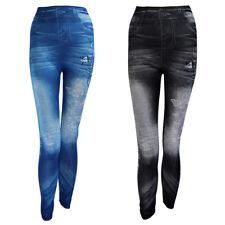 Women Denim Jeans Sexy Skinny Slim Leggings Jeggings Stretch Long Pants Trousers