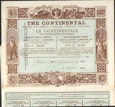 DECO => THE CONTINENTAL (LONDON PARIS) (L)