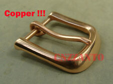 Solid Copper Belt Buckles Vintage Classical Tongue Pin Hippie for 38mm belt