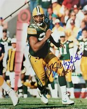 Reprint Reggie White Autographed Green Bay Packers 8X10 PHOTO Man Cave DECOR HOF