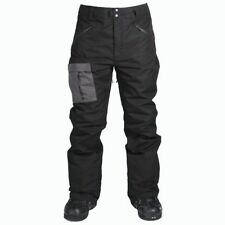 RIDE SNOWBOARDING Men's YESLER Snow Pants - Black - XL - NWT