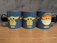 Mandalorian The Child Snack Attack Protect 20 oz Jumbo Ceramic Mug Baby Yoda NEW