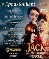 Affiche 40x60cm JACK ET LA MÉCANIQUE DU COEUR (2014) Film d'animation BE