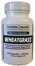 120 Wheatgrass Powder SuperFood Capsules | Nutrients, Alkalinity,Healing & More