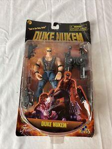 RARE - Duke Nukem - 1997 Action Figure - ReSaurus - 3D Realms - SEE Pics!