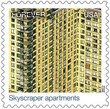 US 4710n Earthscapes Skycraper apartments forever single MNH 2012