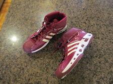 Adidas Men's Pro Model Red White Basketball 18 Hi high Tops shiny 3 stripe