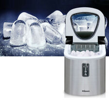 220V Commercial Ice Maker Portable Clear Cube Ice Machine For Restaurant Home
