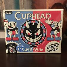 Funko Pop Tees Cuphead Gamestop Limited Edition Box MEDIUM Spin To Win Shirt