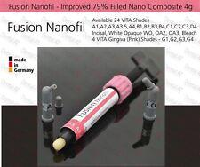 Wo (blanco opaco) Dental Nano compuesto 79% lleno de luz de curado Fina Híbrido, 4g