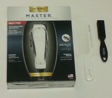 New Andis Master Hair Clipper ML #01557/Andis Flat Top Comb #12499/Clipper Brush