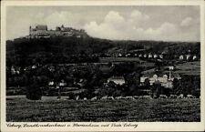 Coburg Bayern AK 1941 Oberfranken Landkrankenhaus Marienheim Veste Burg Panorama