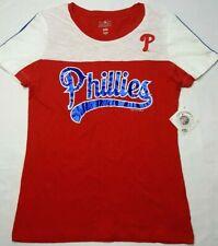 Philadelphia Phillies Womens Genuine Merchandise Shirt Size Small 100% Cotton