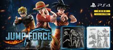 JUMP FORCE edition PS4 Game + Console + Top Cover Jet Black 500GB sony store