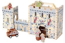 Spielkoffer Burg aus Holz