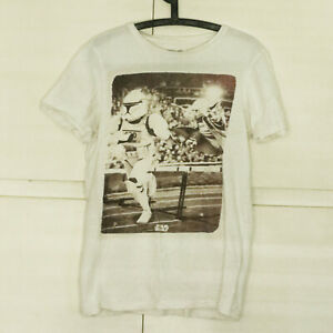 Used Bershka Official STAR WARS t-shirt M Yoda Stormtrooper
