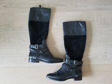 Joan & David Collection Women's Zadarah Tall Riding Boot; Black; Sz 8-1/2 EUC