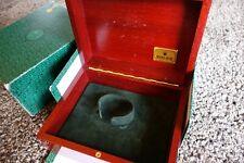 Rolex Gold Submariner Daytona watch box Rosewood genuine