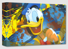 Disney Fine Art Treasures On Canvas Collection Donald Duck- Arcy