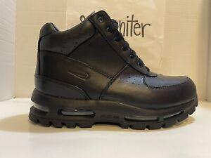 Nike Air Max Goadome ACG Boots Black Leather 865031 009 Men's Size 9 B-Grade