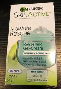 Garnier Skincare Moisture Rescue Refreshing Gel-Cream for Normal/combo , 1.7 oz.