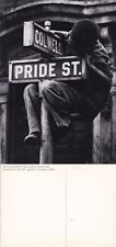 PRIDE STREET & COLWELL FROM A PHOTOGRAPH BY W EUGENE SMITH UNUSED POSTCARD