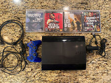 PS3 500GB & 4 Games & PS3 EYE