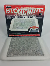 NEW EMSON Original Stonewave Microwave Warming Plate Hot Tray As Seen On TV