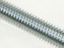 M8 x 1 metre Studding Mild Steel BZP - Bundle of 20