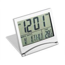 Home Number Lcd Clock Travel Alarm Clocks Thermometer Timer Calendar Display UK
