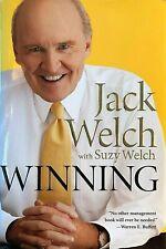 Winning, Jack Welch, Suzy Welch, Harper Business, 2005, 1st Ed BRAND NEW