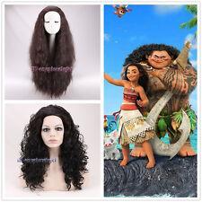Moana Maui Cosplay Peluca + un casquillo de la peluca