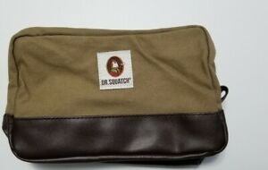 Dr. Squatch Soap Co Men's Toiletry Travel Bag