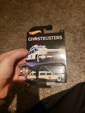 2016 2017 HOT WHEELS GHOSTBUSTERS ECTO-1 Movie Ghost Busters Ecto1 7/8
