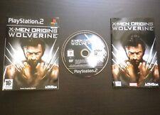 JEU MARVEL Sony PLAYSTATION 2 PS2 : X-MEN ORIGINS WOLVERINE (v.f. COMPLET)