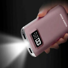 Portable 50000mah Power Bank 2usb External Backup Battery Charger for Iphone7 6 Rose Gold