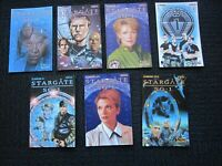 Stargate SG-1 Fall or Rome lot with limited variants - 2004 NM+