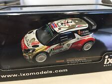 Citroën DS3 WRC Mads Ostberg Monte-Carlo 2014 1:43 IXO MODEL RALLY RAM566