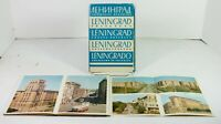 Vintage Lot 1950s 60s Era Set 32 Postcards Leningrad Russia Travel Collectible